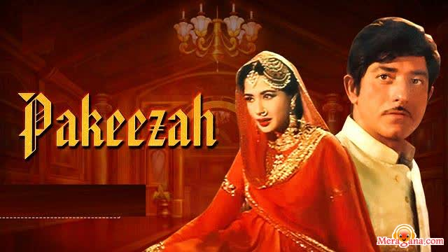 Poster of Pakeezah (1972)