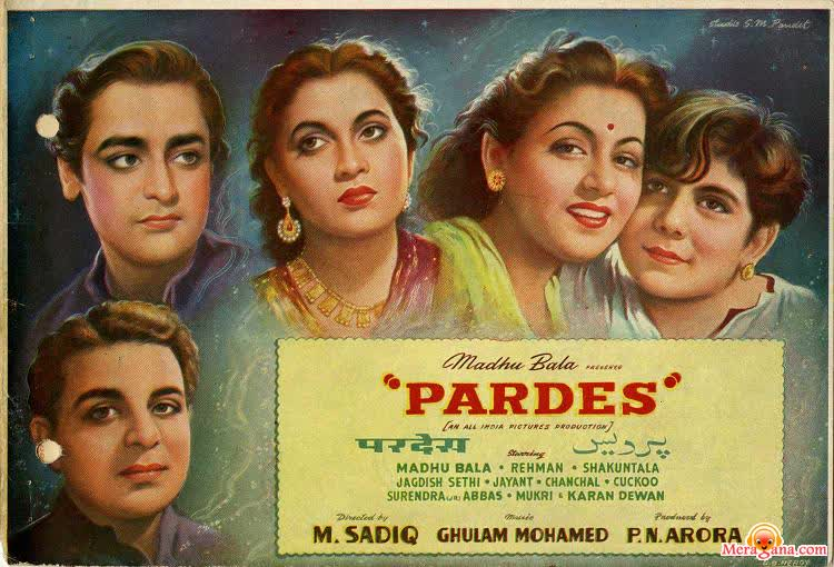 Poster of Pardes (1950)