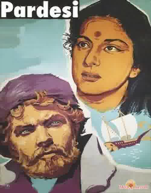 Poster of Pardesi (1957)