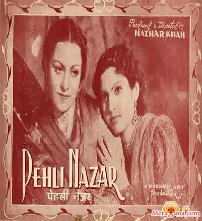 Poster of Pehli+Nazar+(1945)+-+(Hindi+Film)