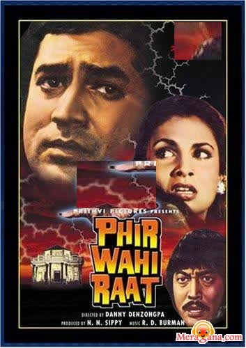 Poster of Phir Wahi Raat (1980) - (Hindi Film)