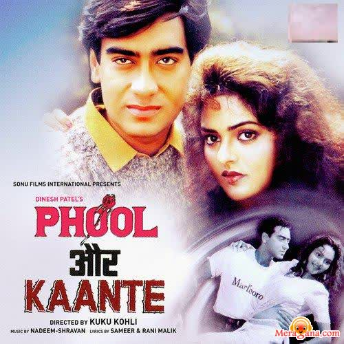 Poster of Phool Aur Kaante (1991) - (Hindi Film)