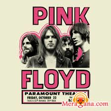 Poster of Pink Floyd - (English)
