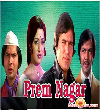 Poster of Prem Nagar (1974) - (Hindi Film)
