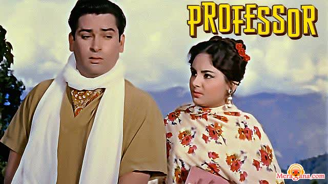 Poster of Professor (1962) - (Hindi Film)