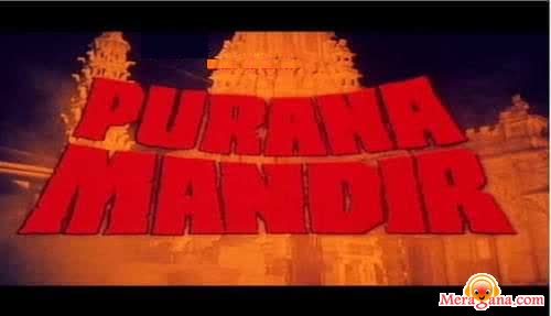 Poster of Purana Mandir (1984) - (Hindi Film)