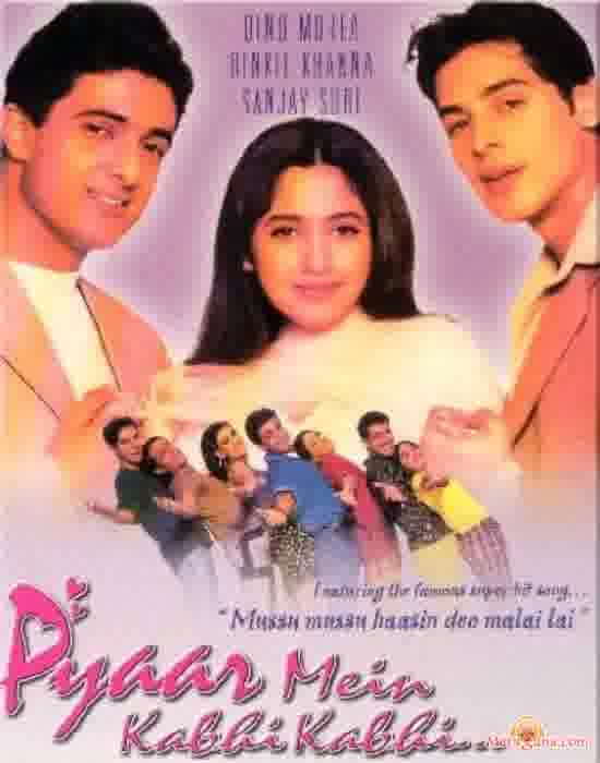 Poster of Pyaar Mein Kabhi Kabhi (1999) - (Hindi Film)