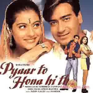 Poster of Pyaar To Hona Hi Tha (1998) - (Hindi Film)