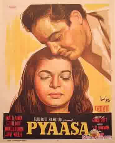 Poster of Pyaasa (1957) - (Hindi Film)