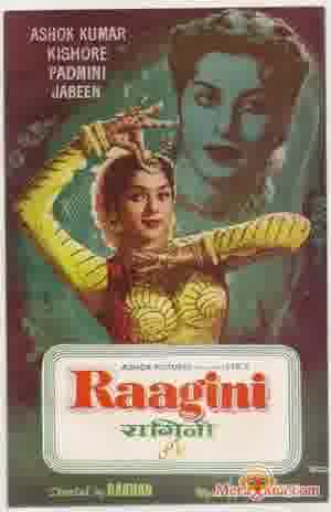 Poster of Raagini (1958) - (Hindi Film)