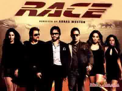 Poster of Race (2008) - (Hindi Film)