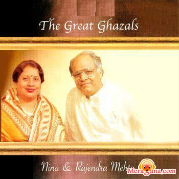 Poster of Rajendra and Nina Mehta - (Ghazal)
