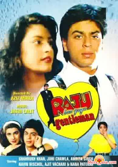 Poster of Raju+Ban+Gaya+Gentleman+(1992)+-+(Hindi+Film)