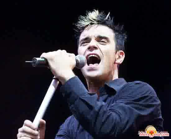 Poster of Robbie Williams - (English)