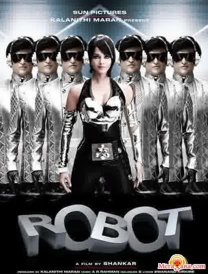 Poster of Robot (2010) - (Hindi Film)