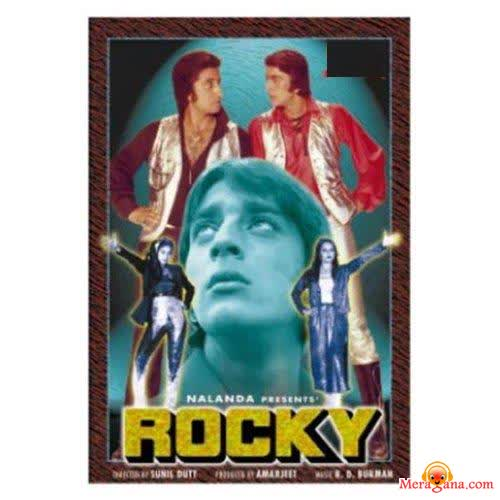 Poster of Rocky (1981) - (Hindi Film)