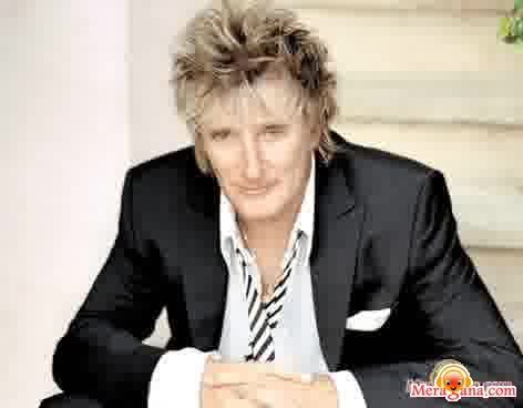 Poster of Rod Stewart - (English)