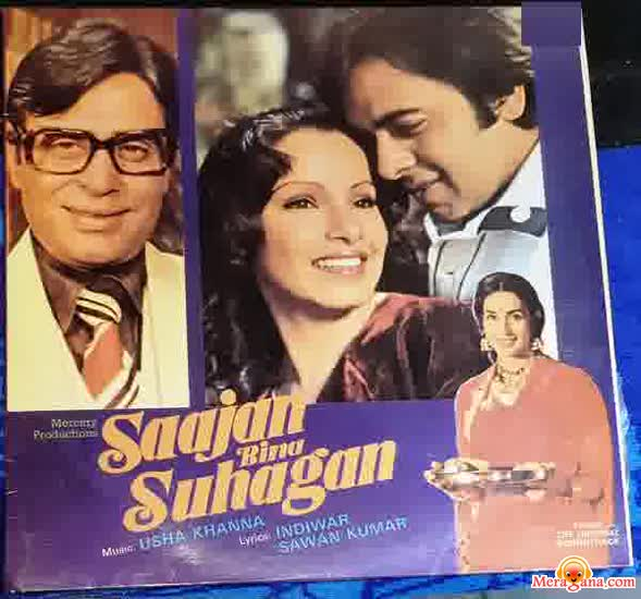 Poster of Saajan Bina Suhagan (1978) - (Hindi Film)