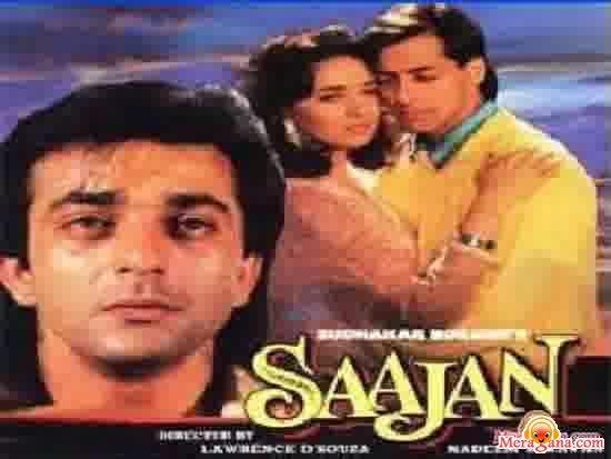 Poster of Saajan+(1991)+-+(Hindi+Film)
