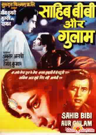 Poster of Sahib Bibi Aur Ghulam (1962) - (Hindi Film)
