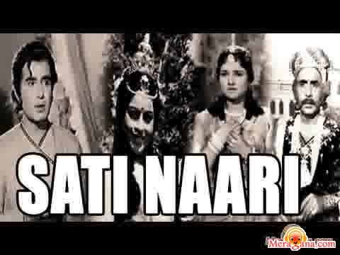 Poster of Sati Naari (1965) - (Hindi Film)