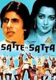 Poster of Satte Pe Satta (1981) - (Hindi Film)