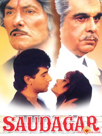Poster of Saudagar (1991) - (Hindi Film)