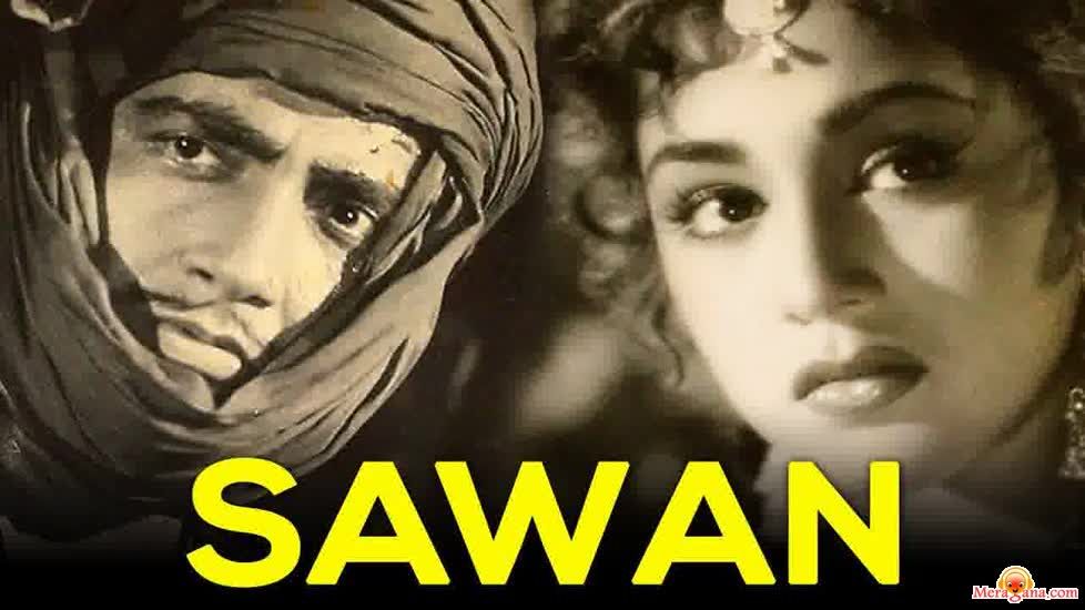 Poster of Sawan (1959) - (Hindi Film)