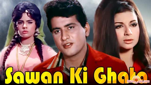 Poster of Sawan Ki Ghata (1966) - (Hindi Film)