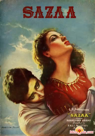Poster of Sazaa (1951) - (Hindi Film)