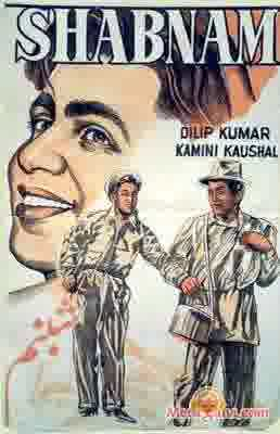 Poster of Shabnam (1949)