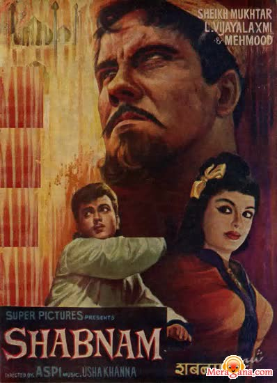 Poster of Shabnam (1964)