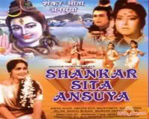 Poster of Shankar Sita Ansuya (1965) - (Hindi Film)