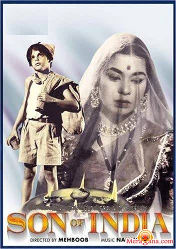 Poster of Son of India (1962) - (Hindi Film)