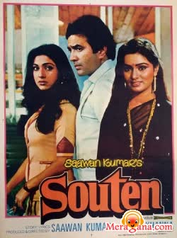 Poster of Souten (1983) - (Hindi Film)