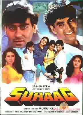 Poster of Suhaag+(1994)+-+(Hindi+Film)