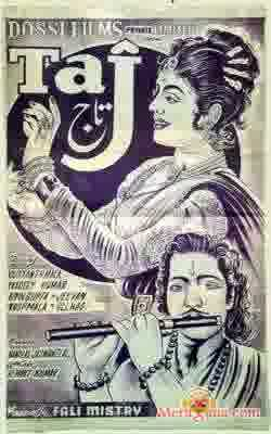 Poster of Taj (1956) - (Hindi Film)