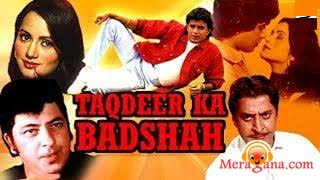 Poster of Taqdeer Ka Badshah (1982) - (Hindi Film)
