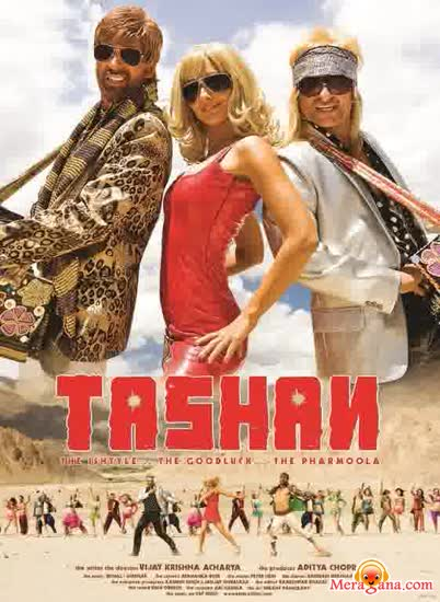 Poster of Tashan+(2008)+-+(Hindi+Film)