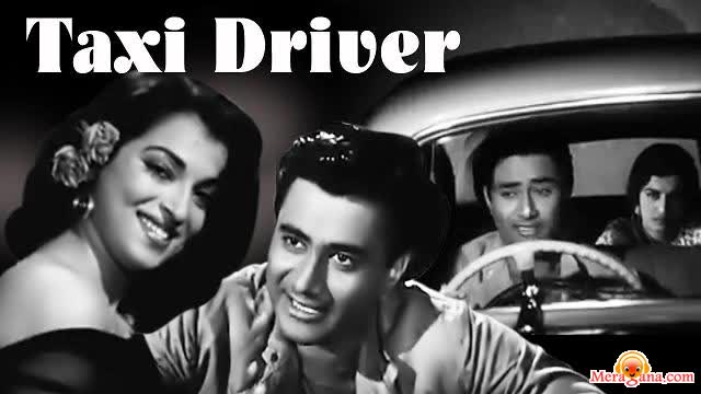 Poster of Taxi Driver (1954) - (Hindi Film)