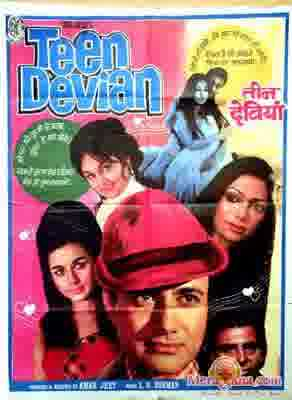 Poster of Teen Devian (1965) - (Hindi Film)