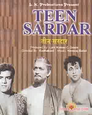 Poster of Teen Sardar (1965) - (Hindi Film)