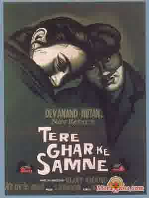 Poster of Tere+Ghar+Ke+Samne+(1963)+-+(Hindi+Film)
