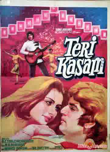 Poster of Teri Kasam (1982) - (Hindi Film)