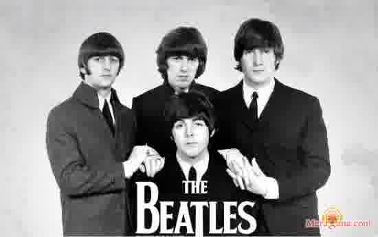 Poster of The Beatles - (English)