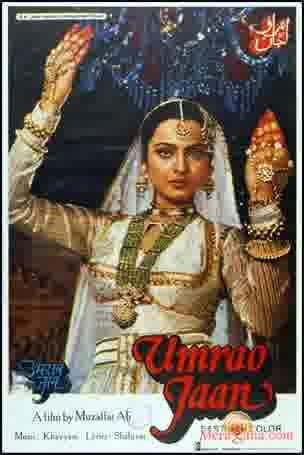Poster of Umrao Jaan (1981) - (Hindi Film)