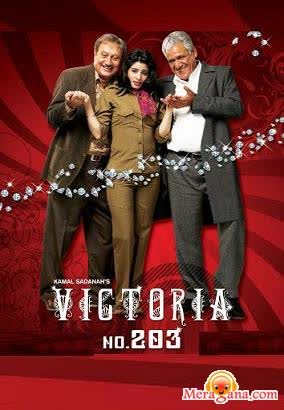 Poster of Victoria No 203 (2007) - (Hindi Film)