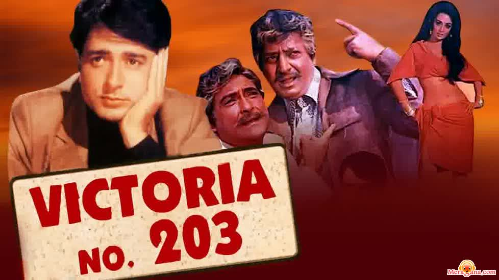 Poster of Victoria+No+203+(1972)+-+(Hindi+Film)