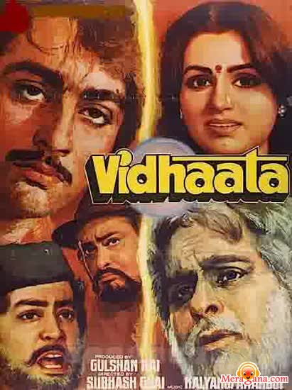 Poster of Vidhaata (1982) - (Hindi Film)