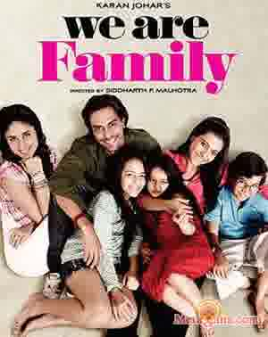 Poster of We Are Family (2010) - (Hindi Film)